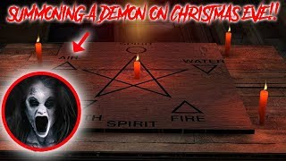 I SUMMONED A DEMON ON CHRISTMAS EVE & TRAPPED IT IN THE HAUNTED DYBUK BOX