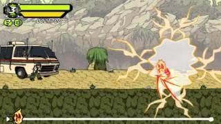 Бэн 10 Ben 10 генератор Рэкс опасная местность прохождение часть #2