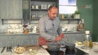 Крем-суп из тыквы и крем-суп из пастернака