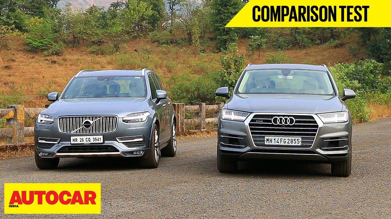 Audi Q7 VS Volvo XC90 parison Test