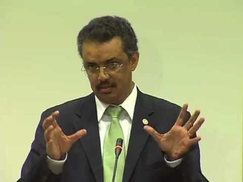 What is Country Ownership Anyway? Remarks by Ethiopian Minister of Health Tedros