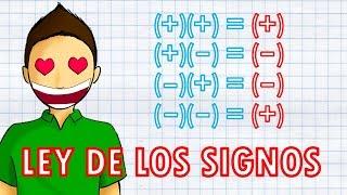 REGLA DE LOS SIGNOS Super facil