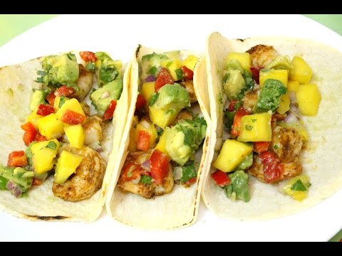 Shrimp Tacos With Mango Salsa - In The Kitchen With Jonny Episode 28