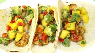 Shrimp Tacos With Mango Salsa - In The Kitchen With Jonny Episode 37