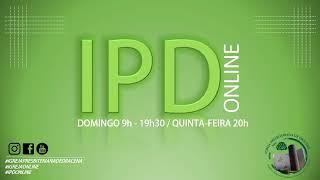 Pregação em 2Timóteo 1.1,13-14 Bispo Silvino Pereira Transmissão ao vivo de IPDOnLine