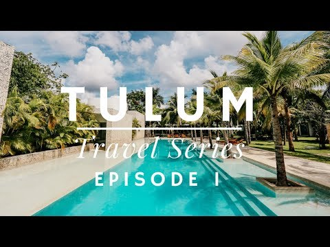 TULUM -  AIRBNB HOUSE TOUR - RAIN SEASON