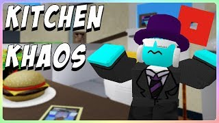 Roblox Toy Plays His Own Map In Arsenal [Kitchen Khaos]