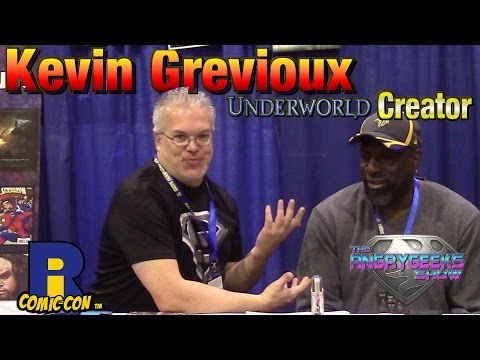 Underworld Creator Kevin Grevioux at Rhode Island comic con