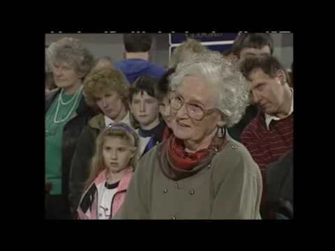 Antiques Roadshow in Orkney 1992