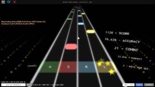 BEST GAME EVER!! (Roblox rythm track) DEAF KEV invincible
