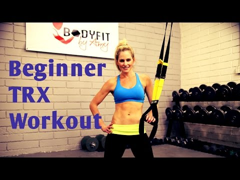 25 Minute TRX Beginner Instructional Workout