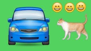 Что сделает кот в автомобиле? ))
