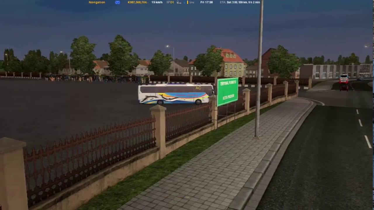 ETS2 Map Jowo v5 Madiun Solo Terminal Tirtonadi With Sugeng Rahayu