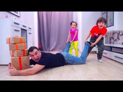 Камиль и Аминка САМИ РАСПАКОВАЛИ все СЮРПРИЗ БОКС! Для детей Kids Children