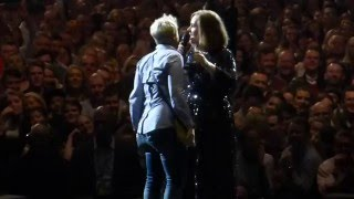 Adele Helps Woman Propose to Her Boyfriend Onstage for Leap Day