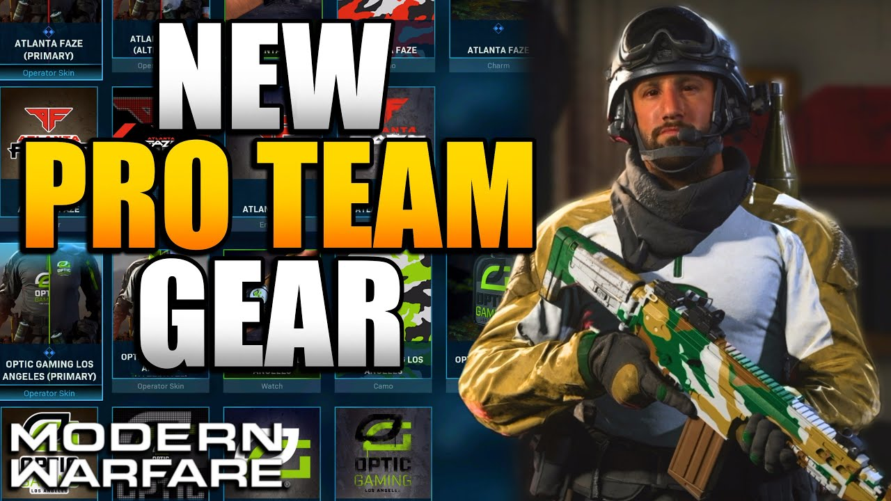 How To Get New Team Gear Modern Warfare Cdl Outfits Camos More Youtube