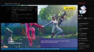 Fortnite battle royal decent player creator code CODTHEFISH9988 Road to 1.4k