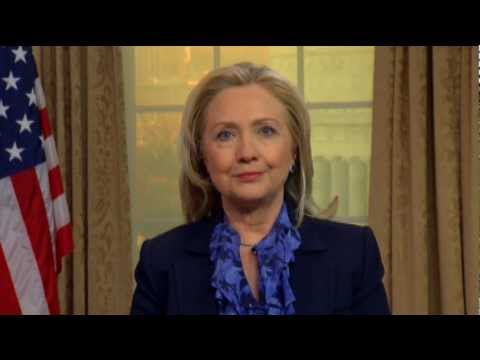 Secretary Clinton Delivers a Video Message to the Fulbright Scholars