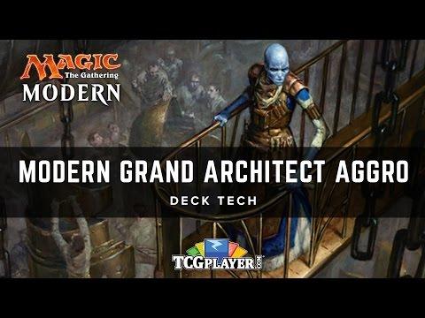 [MTG] Modern Grand Architect Aggro | Deck Tech