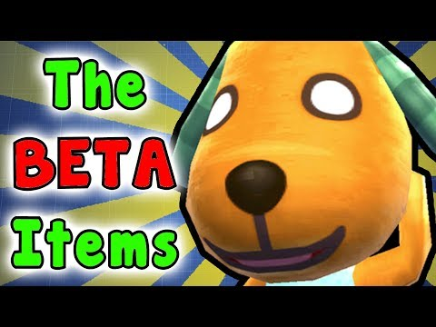 The REMOVED/BETA Items?! - Animal Crossing City Folk