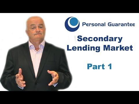 Secondary Lending Market (1/3): The Opportunities