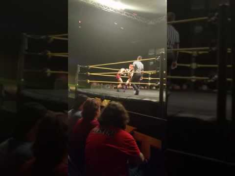 NXT in Omaha awesome show