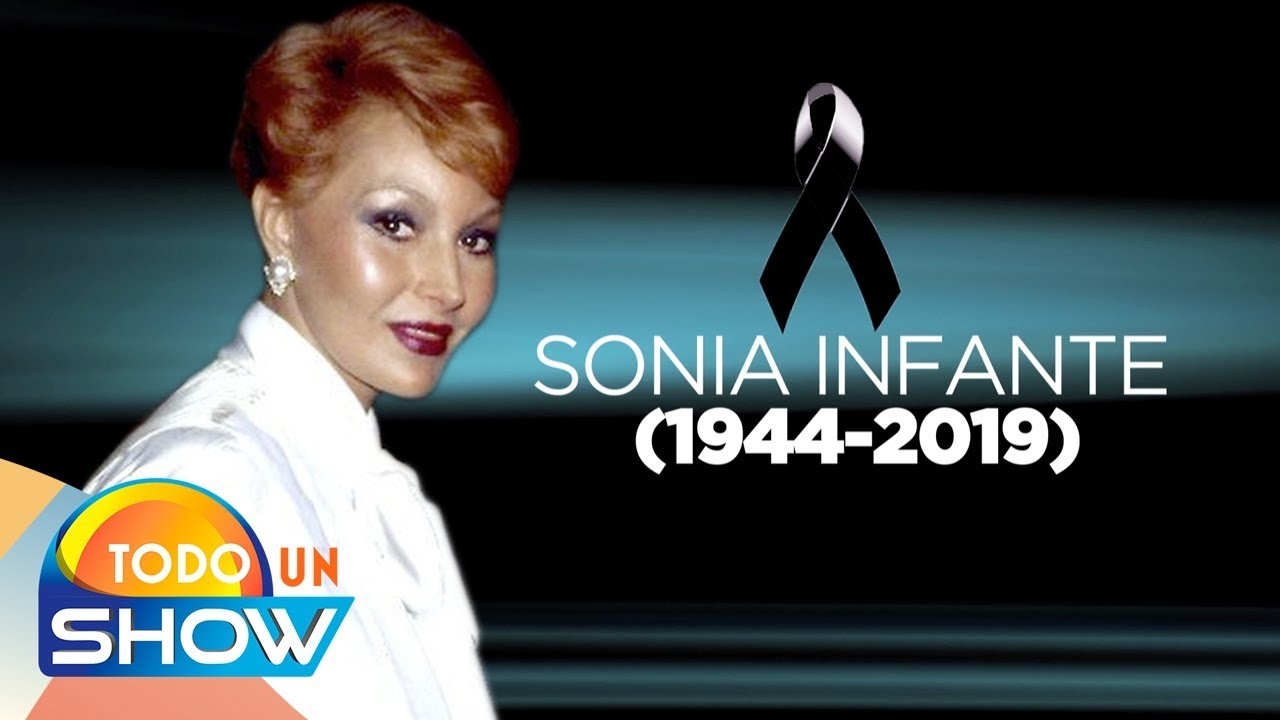 Falleció Sonia Infante a los 75 años, actriz de cine y de la televisión mexicana.
