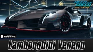 Need For Speed No Limits: Lamborghini Veneno (MAXXED OUT + Tuning [All Black Edition Parts])