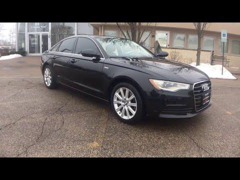 2013 Audi A6 Milwaukee, WI, Kenosha, WI, Northbrook, Schaumburg, Arlington Heights, IL 4392