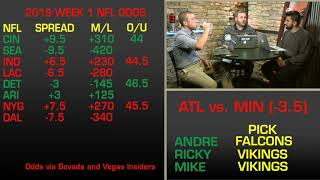 The Spread: Week 1 NFL Picks, Odds, Predictions And Betting Analysis