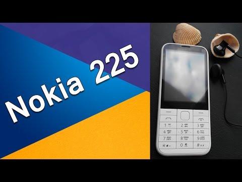 Мобільний телефон Nokia 225 Black Dual Sim