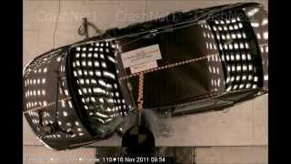 2012 Toyota Camry | Pole Crash Test | CrashNet1