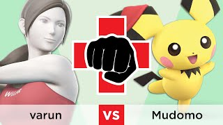 Combat for a Cause: Mental Health - Winners QF: varun (Wii Fit Trainer) vs. Mudomo (Pichu)