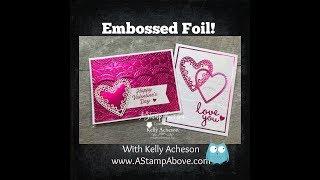 Embossed Foil