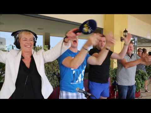 Valerie Hughes - Galway Bay Fm Live from Spain with The Three Amigos