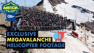 Exclusive Megavalanche helicopter footage | CRC |