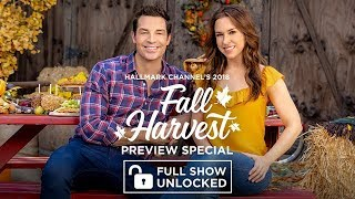 Full Episode - 2018 Hallmark Movies Fall Harvest Preview Special | Hallmark Channel
