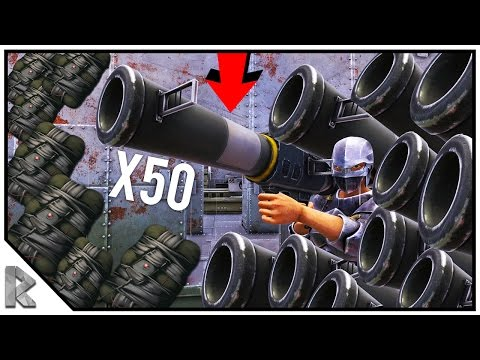 OPEN DOORS x50 ROCKETS, x25 C4 RAID FOR FREE! - Ark Survival Evolved