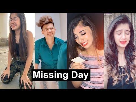 Happy Missing Day Tiktok Videos | Awez, Jannat, Riyaz, Arishfa, Lucky Dancer