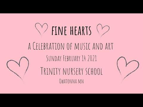 Trinity Nursery School 2020 2021 Fine HeArts