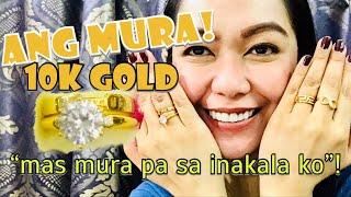 BUMILI AKO NG 10 KARAT SAUDI GOLD SOBRANG MURA | Rosh Castillo