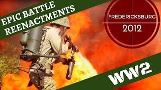 Epic WW2 [Pacific] Reenactment -- Fredericksburg 2012
