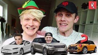 AUTO'S VAN YOUTUBERS RADEN met MILAN KNOL | Kalvijn