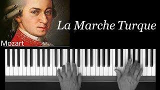 Marche Turque Mozart, piano, présentation Méthode  Frédéric Bernachon