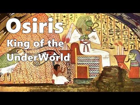 Osiris - Egyptian King of the Underworld