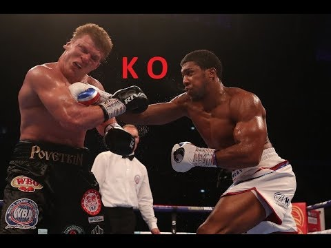 Anthony Joshua Vs Alexander Povetkin Knockout Full Highlights 2018 HD