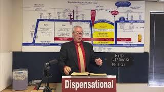 Fundamentals of Dispensationalism Lesson 12