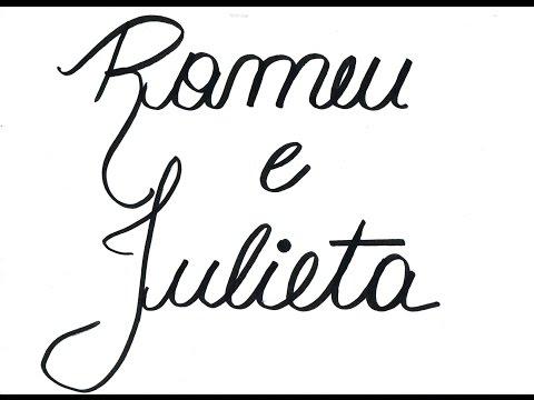 asas para literatura resumo da historia romeu e julieta em desenhos