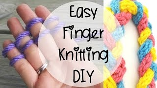 Episode 80: How to Finger Knit