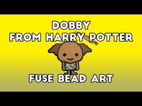Dobby Fuse Bead Art Harry Potter Series